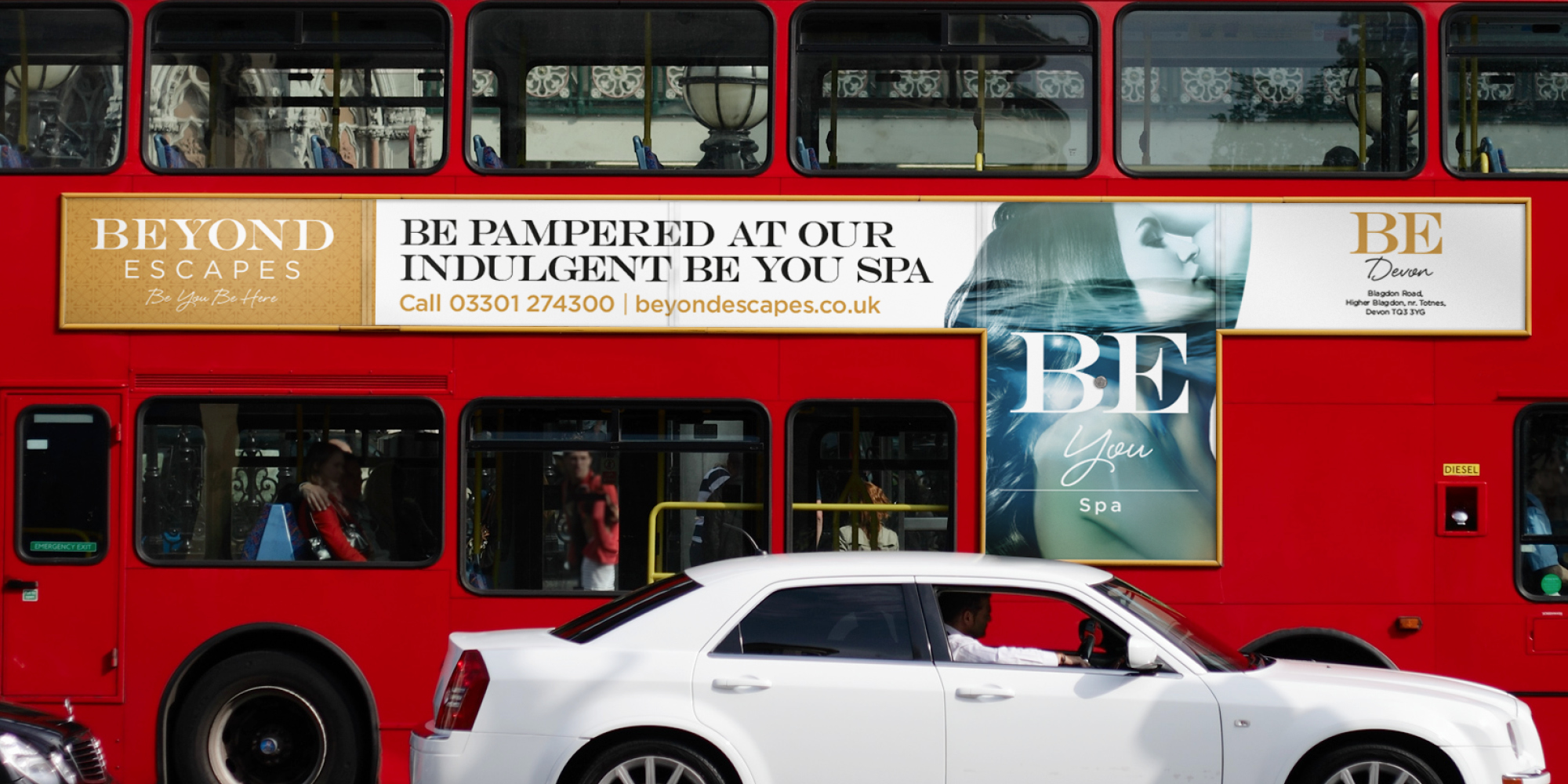 Be You Spa - Bus Side