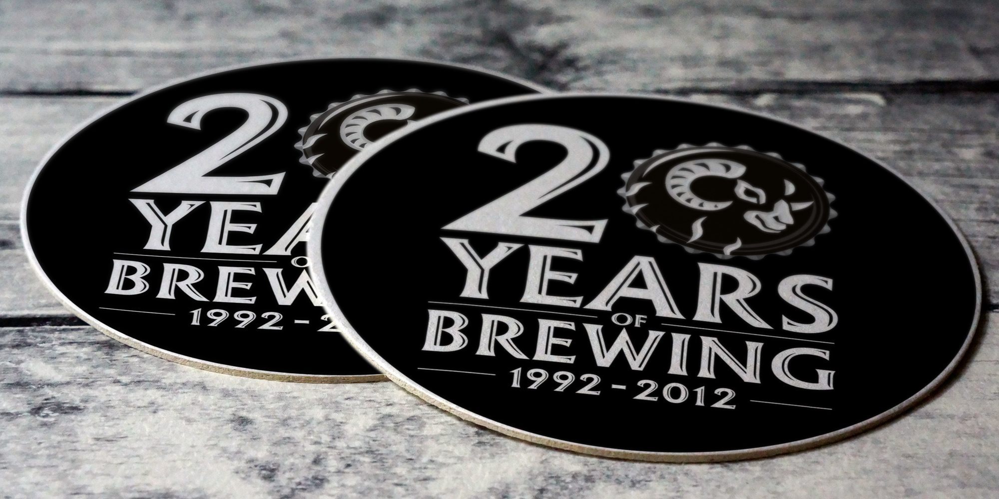 Black Sheep 20 Years Coasters