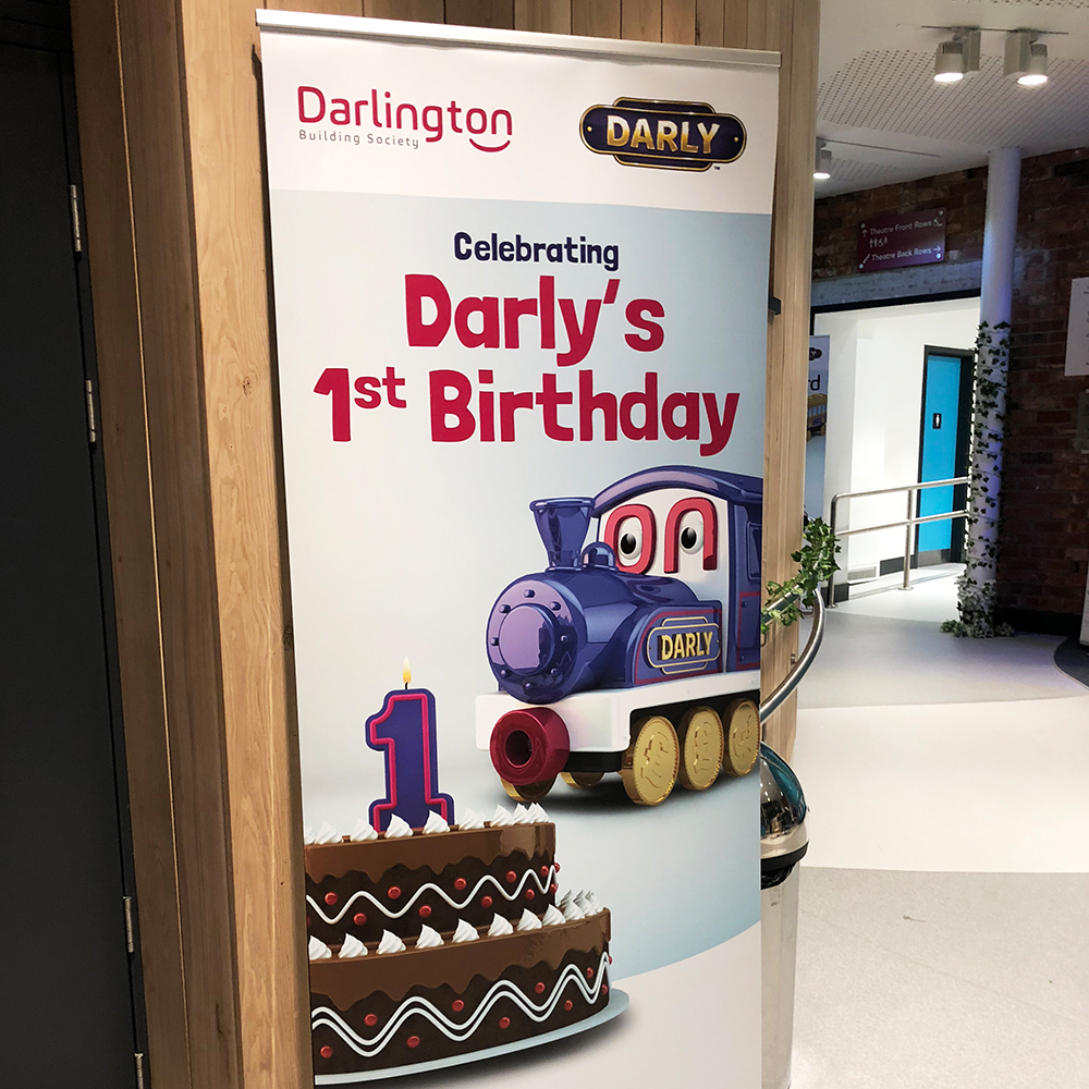 Darly Birthday Banner