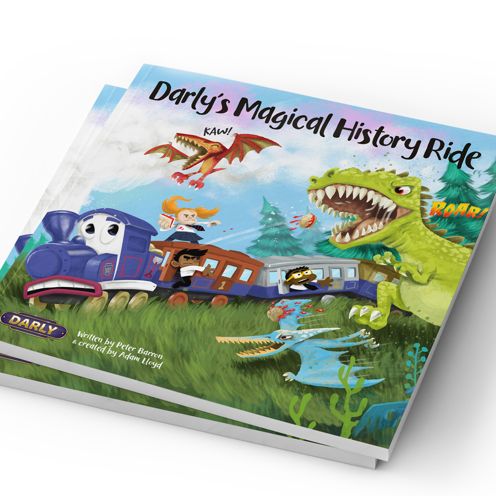 DARLYS MAGICAL HISTORY RIDE BOOK