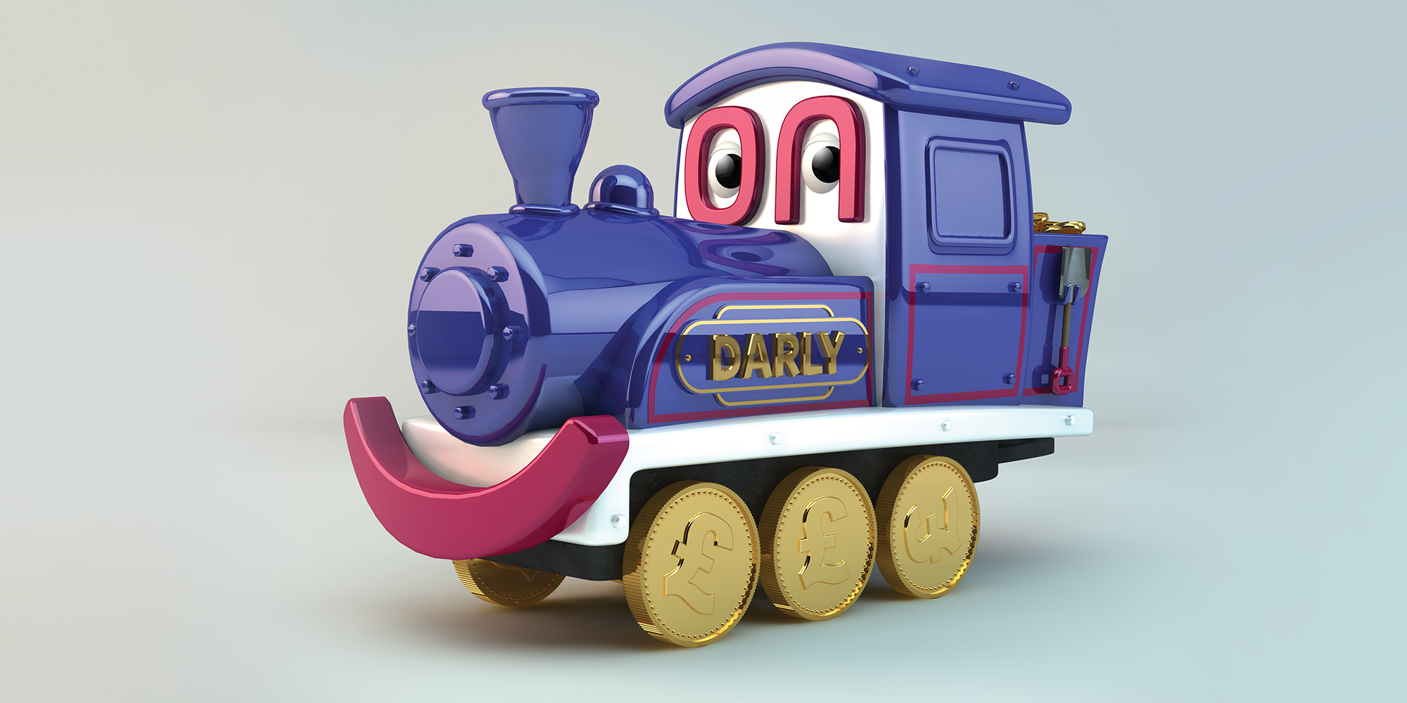 Darly-Train Wireframe second